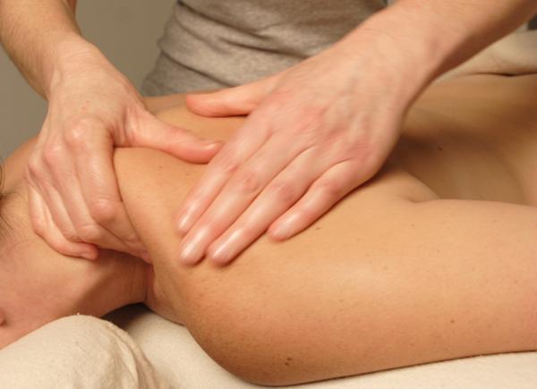 Massage close-up